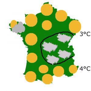 previsions meteo 18 novembre